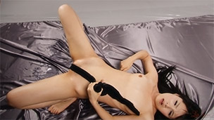 Black Pantyhose Creamy Liquid Masturbation