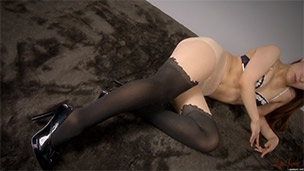 Black Lace Print Pantyhose