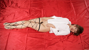 String Stockings Liquid Masturbation