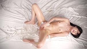 White Pantyhose Liqiud Masturbation