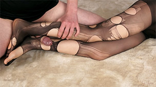 Pantyhose Rip and Rub