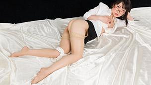 Office Girl in Stockings