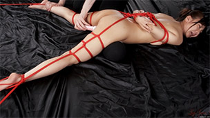 Leg Bondage Vibrator Attack