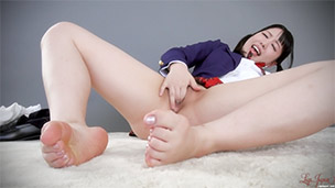 Schoolgirl Masturbation